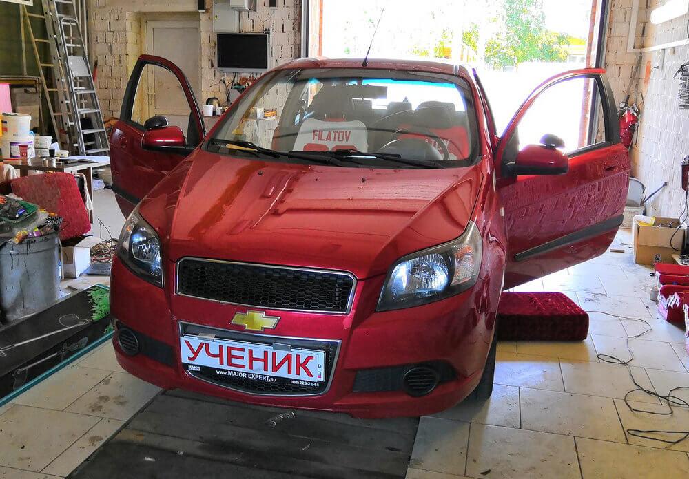 Chevrolet Aveo с МКПП